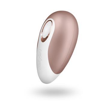 5 Satisfyer Succionador Clitoris Pro Deluxe Next Gen Oro Blanco
