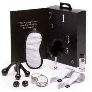 Fifty Shades Of Grey Kit Dulces Sensaciones Pleasure Overload Sextoy Mujer Hombre Caja