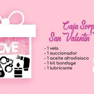 Caja Sorpresa San Valentin Sextoys Amor