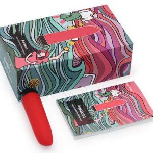 Ala,vibradora,pinta Labios Mujer Femenino Control Remoto Smartphone App Caja
