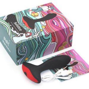 Plug Anal Masajeador Prostata Masculino Vibrador Control Remoto Smartphone App Caja