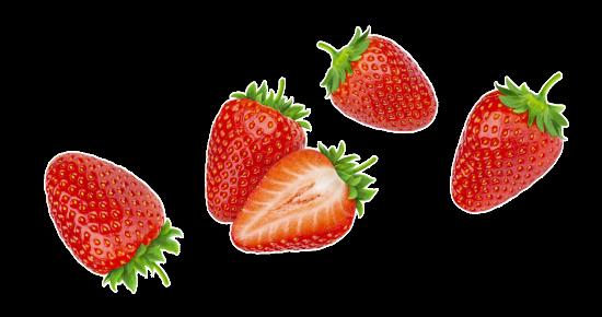 Fresas Transparentes